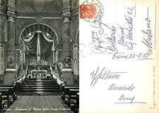 Cartolina di Crema, santuario di Santa Maria della Croce - Cremona, 1957