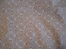 VIP Cranston Print Works Tan Cream Floral Print Cotton Fat Quarter
