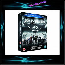 X MEN THE CEREBRO COLLECTION - 7 FILMS BOXSET *** BRAND NEW BLURAY BOXSET**