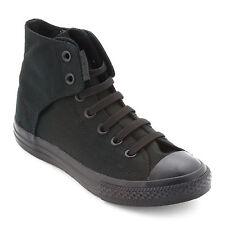 Converse Chuck Taylor All Star Black Mono Easy Slip Hi Top