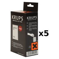 Krups Anticalc Kit* F054 Descaler, Pack of 5