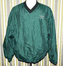 Vintage Umbro Soccer Mesh Lined Pullover Jacket Size XL