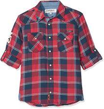 Chemises rouge pour garçon de 14 ans