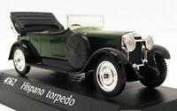 Solido 1/43 Scale Model Car 4162 - Hispano Torpedo - Green
