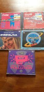 Pop Will Eat Itself CD Job Lot (RSVP/Cicciolina/Ich Bin/Pweization/Get The Girl)
