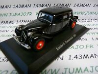 TRA36 voiture 1/43 atlas traction NOREV :  traction 11B Commerciale 1939