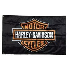 Harley Davidson Flag Banner 3 X 5 ft Indoor Outdoor With Grommets For hanging