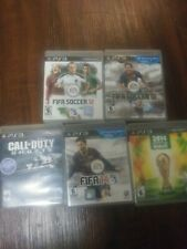 Ps3 Game Lot, Fifa And Call Of Duty Ghosts, Fifa Brazil, 12, 13, 14
