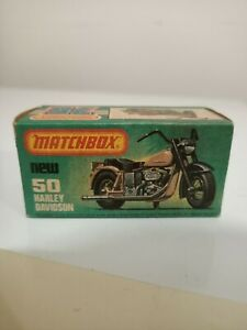 Matchbox superfast NO.50 Harley Davidson, original empty box
