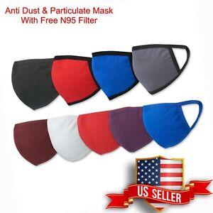 Cotton Face Mask Reusable Washable Cover Masks Fashion Cloth Men Women