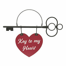 Valentine Key Heart Sign - Home Decor - 1 Piece