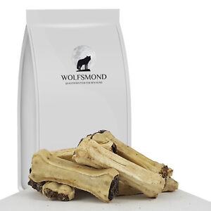 Kauknochen mit Pansen 10 cm gefüllt Hundeknochen Rinderhaut Hundefutter Snack