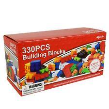 Bloques de construcción 330 piezas ladrillos de color de Regalo Creativo Educativo para Niños Juguetes