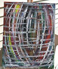 """World of Colors""   ORIGINAL FINE ART  American Artist GREGORY HUGH LENG"