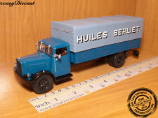 BERLIET GDR 7W HUILES 1:43 FRANCE CAMION TRUCK 1949