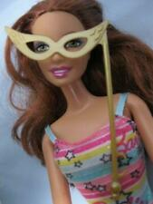 Barbie Doll clothes:My Scene Halloween Costume Masquerade GOLD CAT EYE WING Mask