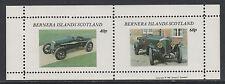 GB Locals - Bernera 3556 - 1981  VINTAGE CARS perf sheetlet of 2 unmounted mint