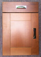 Solid Cherry Wood Shaker Panelled Style Kitchen Unit Cupboard Doors Drawer Front