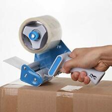 Heavy Duty Packaging Tape Dispenser Gun Packaging Cutter Machine 3inch Wide Blue