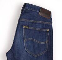Lee Herren Daren Gerades Bein Jeans Größe W31 L32 ARZ478