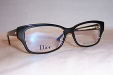 NEW CHRISTIAN DIOR EYEGLASSES CD MONTAIGNE 10 G99 BLACK 54mm RX AUTHENTIC