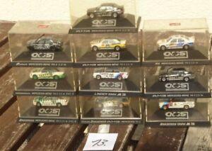 Herpa IN Set 1:87 H0, 10 Piece Car - DTM Race Car BMW M 3, MB Mercedes E 190