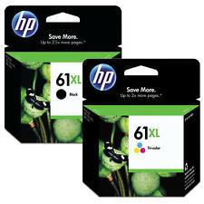 HP 61XL Original Black and Tri-color Ink Cartridge Combo For DeskJet 2514 2540