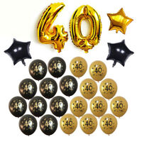 10Pcs 30 40 50 60 Happy Birthday Printed Ages Latex Balloons Party Decor Supply