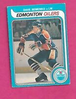 1979-80 OPC  # 371 OILERS DAVE SEMENKO ROOKIE VG  CARD (INV# C7957)