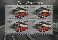 1954 Bristol LD (Lodekka) Double Decker British London Bus TIMBRE FEUILLE (2012)