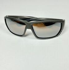 Costa Tuna Alley Sunglasses Matte Silver /  Silver Mirror 580P EUC