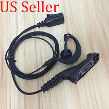 Clip Ear Hook Headset/Earpiece Mic For Motorola Radio APX6000 APX6000XE APX6500