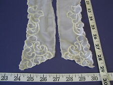 4102 Appliques Collars Embroidered Antique Cream 2 Pound Sale Lot Close Out