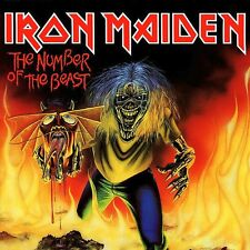 Iron Maiden-The Number Of The Beast EP Vinyl LP Cover Sticker or Magnet
