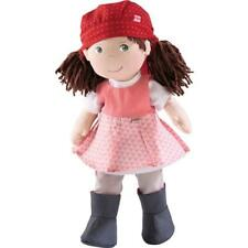 Haba 300876 - Puppe Lisbeth Mädchen Stoff Zöpfe Kleidung austauschbar frisieren