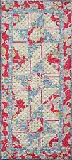 Beach Garden Quilt Patterns - Roundabout Table Runner Pattern FREE US SHIPPING