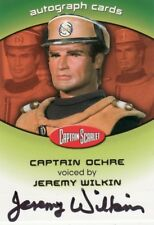 Captain Scarlet Jeremy Wilkin as the Voice of Captain Ochre CSA2 Auto Card