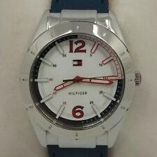 Reloj TOMMY HILFIGER para mujer. Correa reversible azul y rojo.
