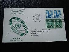 ETATS-UNIS - carte 1er jour 3/9/1954 (cy37) united states