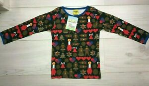 Duns Sweden Top Gingerbread Festive size 98 cm
