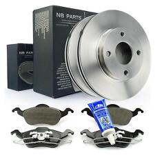 Bremsscheiben + Bremsbeläge vorne + ATE Plastilube Ford Focus 1 bis Bj. 09.04
