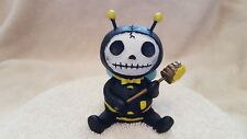 Furrybones Bumble Bee Buzz Figurine Skull in Costume Collect New Free Shipping
