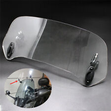 Adjustable Motorcycle Scooter Windshield Deflector Extender for Honda BMW Yamaha