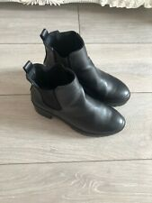 Black Ankle Boots From New Look Size 5