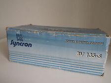SYNCRON BV 135-S........(CARDBOARD BOX ONLY).............RADIO_TRADER_IRELAND.