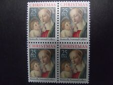 US Postage Stamps 1988  Madonna and Child Traditional Christmas Scott 2399 4-25¢