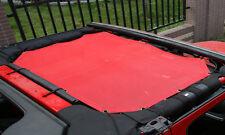 red Insulation net Heat Insulation Kit 2 Door for Jeep Wrangler 2007-2016
