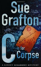 SUE GRAFTON ____ C IS FOR CORPSE ____ BRAND NEW ___ FREEPOST UK