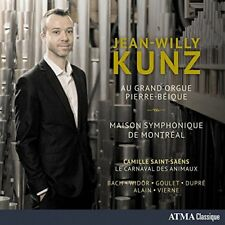 Jean-Willy Kunz - Vierne: Au Grand Orgue Pierre-Beique [CD]