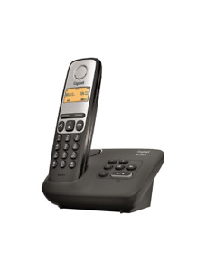 Phone Siemens Gigaset AL130A With Answering Wireless New Black